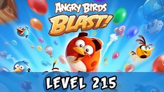 Angry Birds Blast Level 215 Gameplay Walkthrough