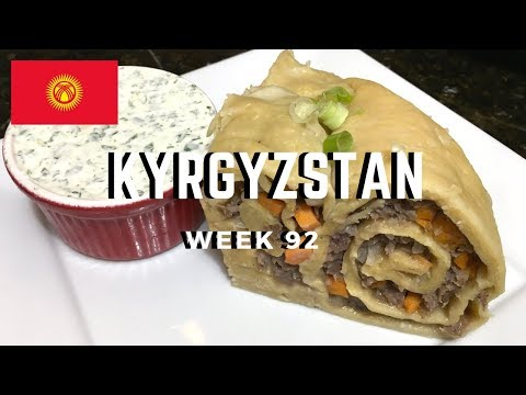 Second Spin, Country 92: Kyrgyzstan [International Food]