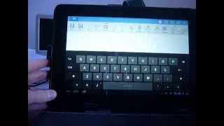 toetsenbord aansluiten op een android tablet