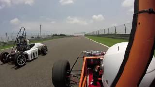 endurance race full front   supra sae india 2016   gt motorsports