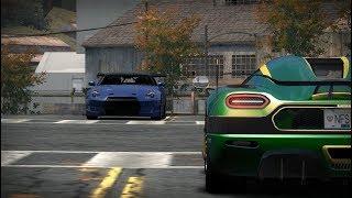 Nissan GTR R35 vs Koenigsegg Agera RS Naraya ( NFS MW Blacklist 4 ) Video