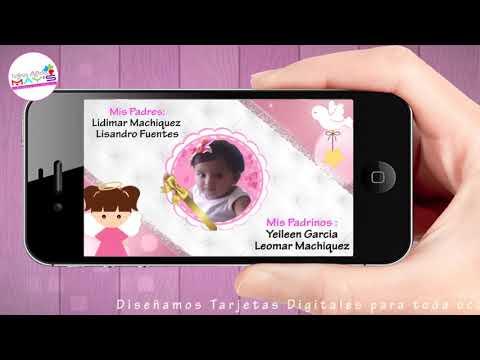 Invitacion digital Bautizo niña 01