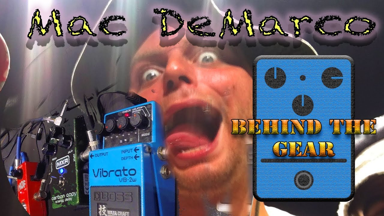 mac demarco behind the gear effects pedals arena corner youtube. Black Bedroom Furniture Sets. Home Design Ideas
