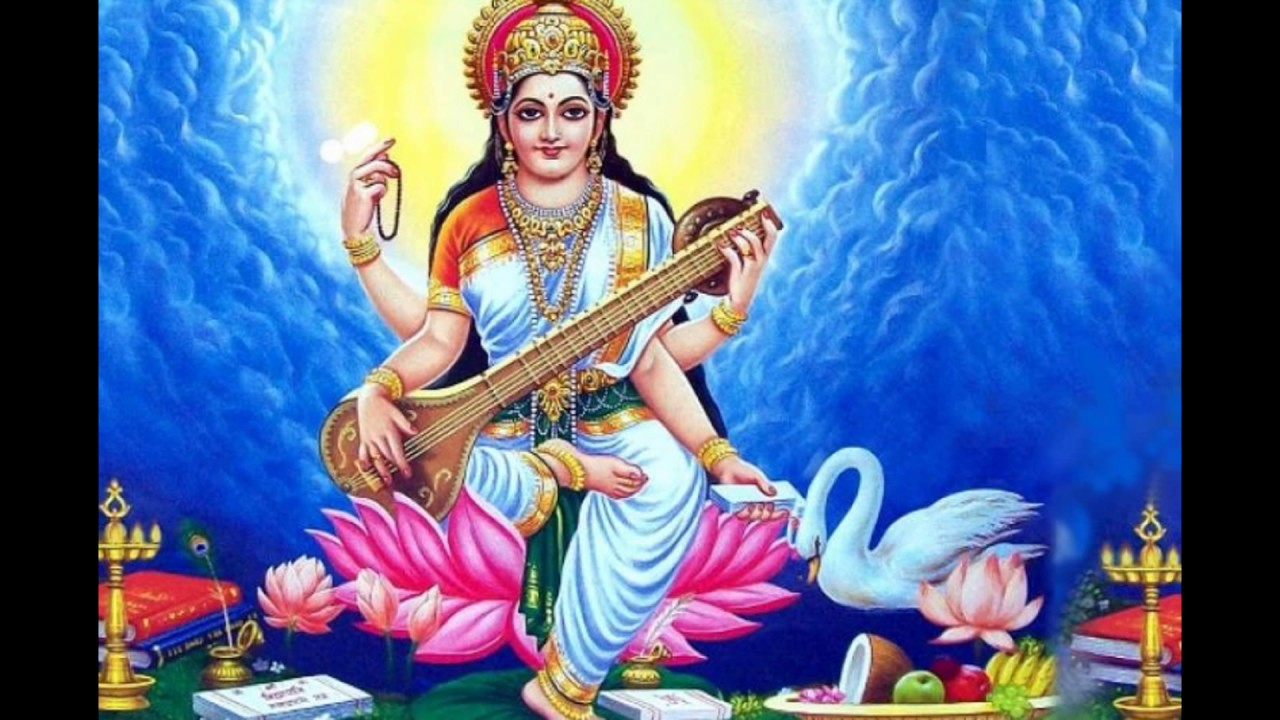 Great Wallpaper Lord Saraswati - maxresdefault  HD_673969.jpg