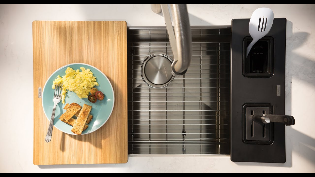 Quick And Easy Breakfast With Smart Kitchen Sink Accessories
