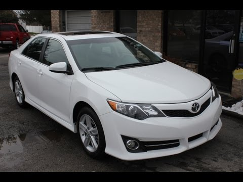 Used like New 2012 Toyota Camry SE for sale Georgetown Auto Sales KY Kentucky SOLD