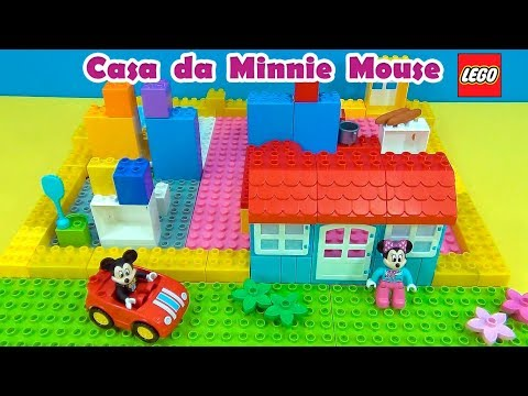 Minnie Mouse Lego House  Casa de Lego da  #MinnieMouse #MickeyMouse #TiaCris