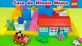 Minnie Mouse Lego House  Casa de Lego da  #MinnieMouse #MickeyMouse #TiaCris