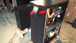 Трехфазный ИБП  Power-Vision Black 3/1 10 кВА. Запуск(Power-Vision Black 3/1 10 кВА. 3ф вход, 1ф выход. On-Line с двойным преобразованием напряжения. Описание здесь: http://www.ибп.рф/ca..., 2015-10-20T03:52:48.000Z)