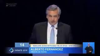 """El día que Alberto dijo: """"La prensa corre peligro con Macri, no conmigo"""""""