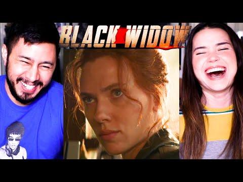 BLACK WIDOW | Special Look | Scarlett Johansson | Reaction