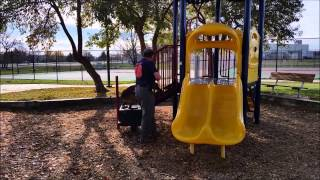 Building Confidence Using Playground Equipment
