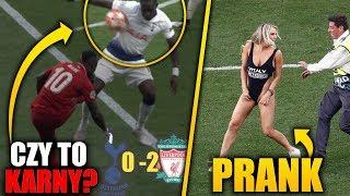 Liverpool WYGRYWA Ligę Mistrzów! Wielkie kontrowersje! Fanka na boisku!