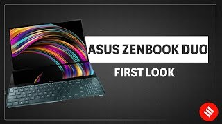 Asus ZenBook Duo first look: The laptop with two screens