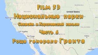 Фильм 53. Национальные парки Секвойя и Королевский каньон.  Часть 6. Роща генерала Гранта.