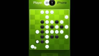 How to play reversi (othello). Gameplay in Fresh Reversi iOS game