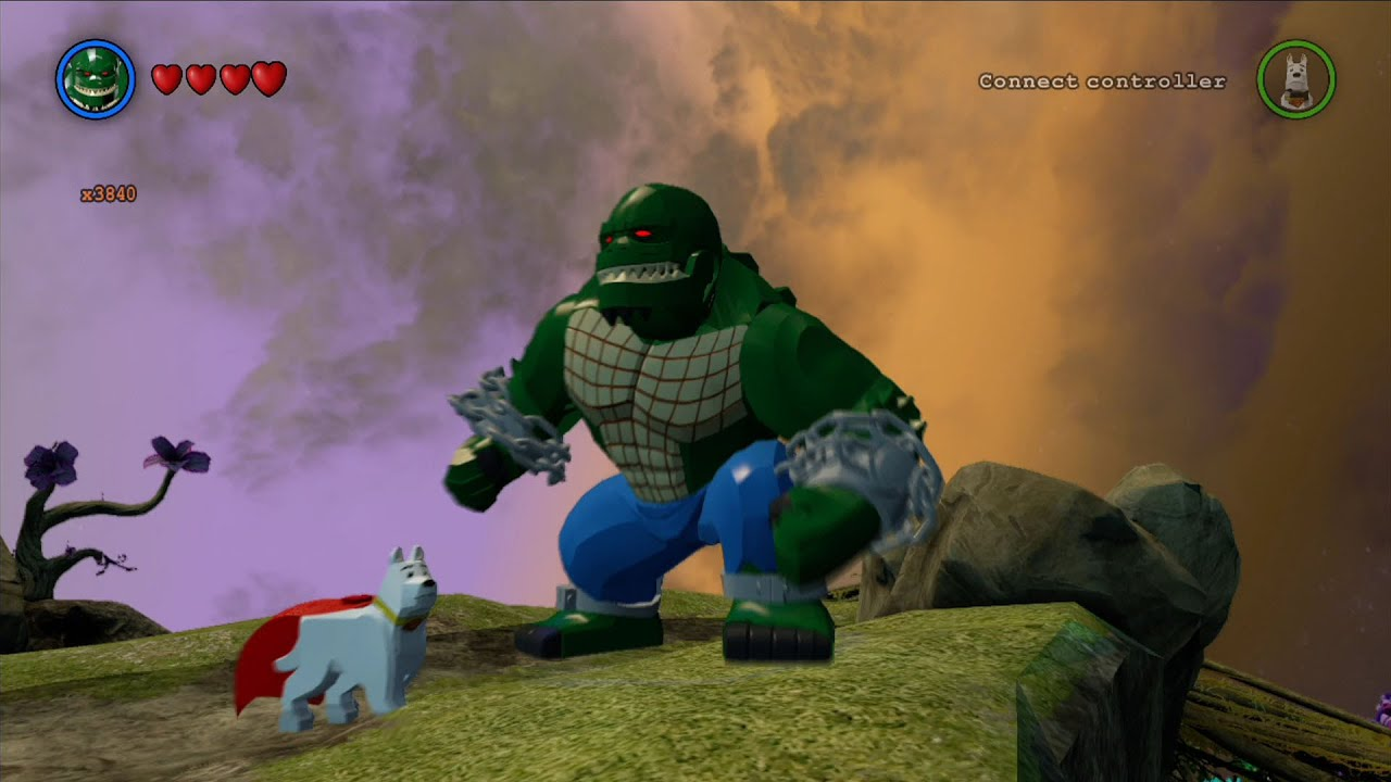 LEGO Batman 3: Beyond Gotham - Killer Croc Free Roam ...