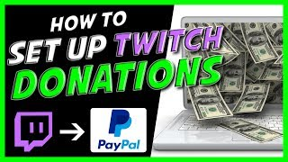 How to setup donations on Twitch Paypal (2019)