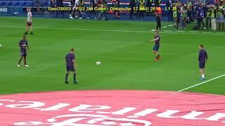 PSG / Caen 12.08.2018 : 3-0 (L1 J1) 3/8 : Entrée du PSG