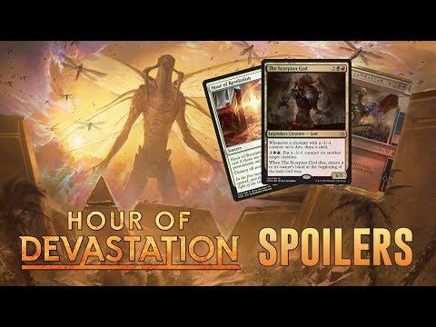 Hour of Devastation Daily Spoilers - June 16, 2017 | Spoiler Kickoff: The Scorpion God