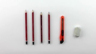 How to draw a realistic fantail. Part 2 - The tools