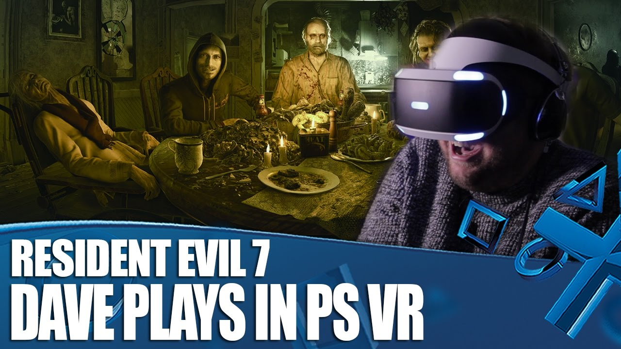 Resident Evil 7 Playstation Vr Gameplay How Long Can Dave Last