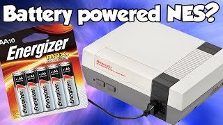 Can you run an NES from AA batteries?