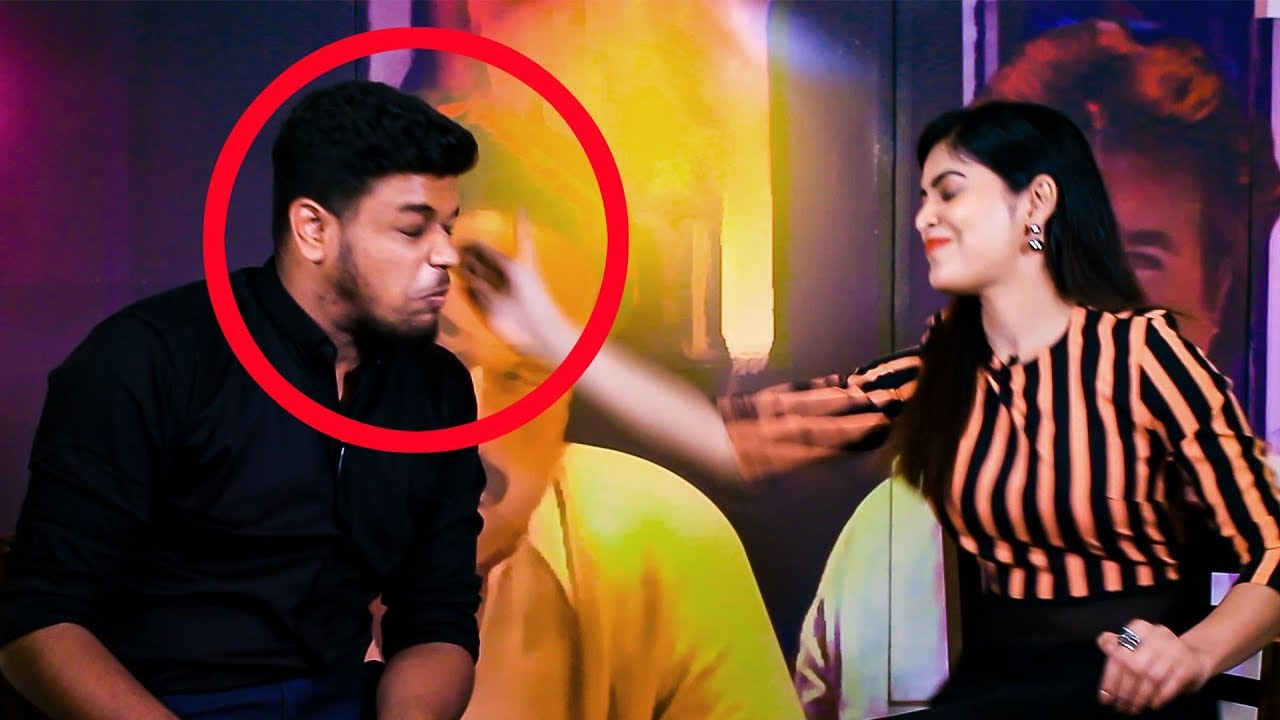 KISS me, HUG me, SLAP me GAME with Sanchita Shetty | Party