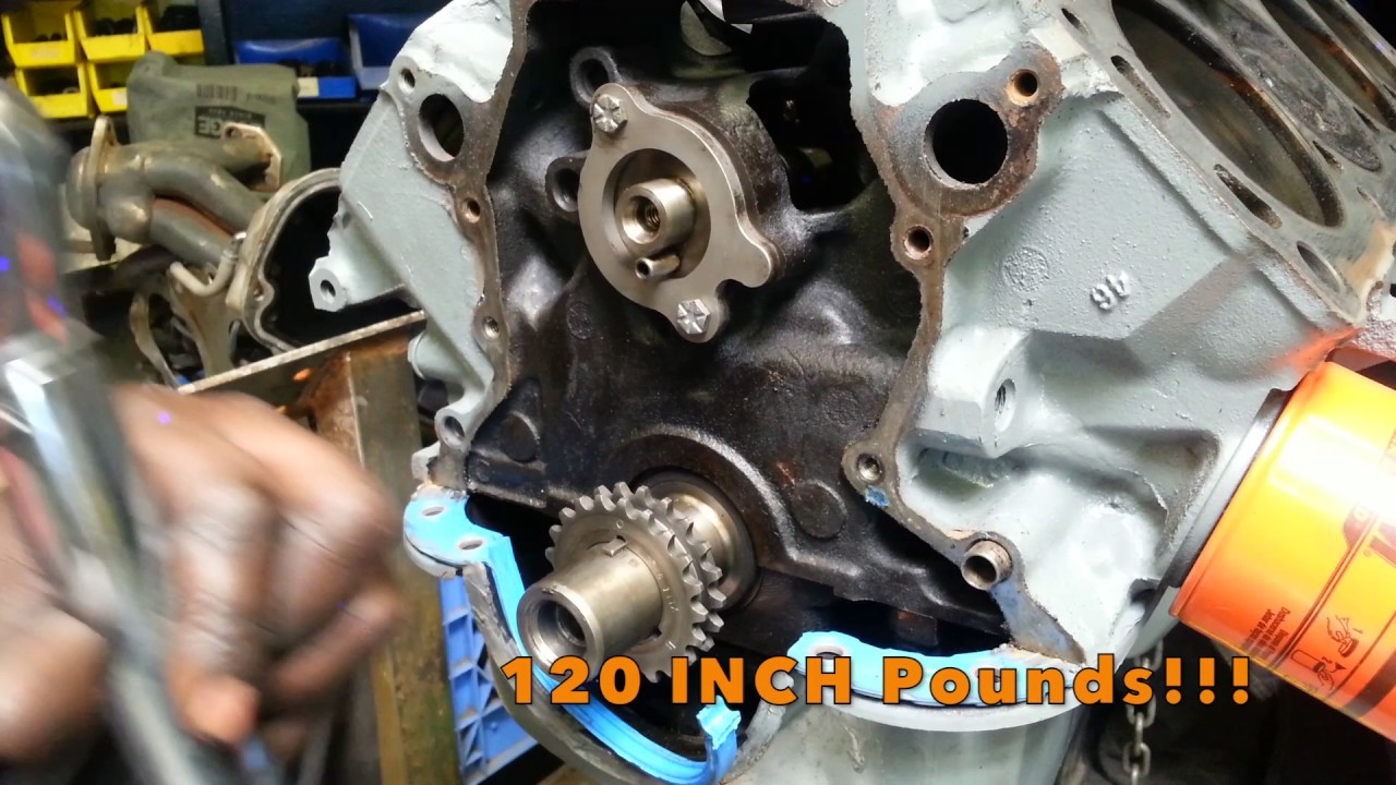 hight resolution of how to install ford 302 timing chain www junkyarddoggs com