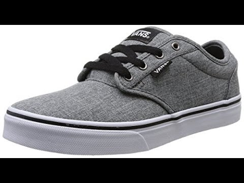 vans atwood grey and black