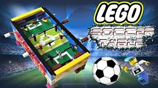 Lego Soccer Table **100 subs**