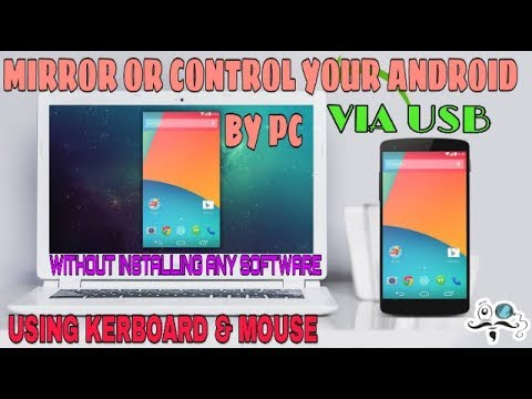 How to install scrcpy in pc | mirror/ control android from pc | fatest way  to mirror your android