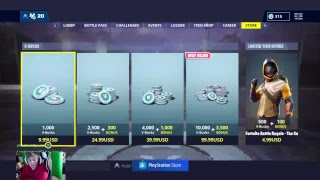FORTNITE HV CLAN GAMEPLAY STW AND BR GIVEAWAYS ICE KING