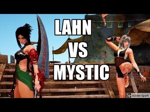 Black Desert Online Lahn (Lethal Skill) PvP VS Top Tier Mystic @1440p