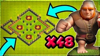 CAN GIANTS ONLY 3 STAR A BASE IN COC? - SHOCKING RESULTS - Clash of Clans