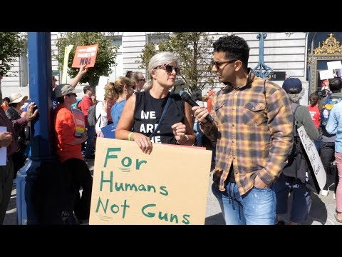 Interviewing Gun Control Supporters In San Francisco