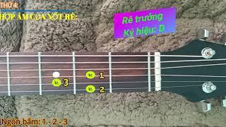 Tự học đàn Guitar (Bài 3) Hợp âm căn bản