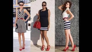 Combinacion de ropa con zapatos rojos