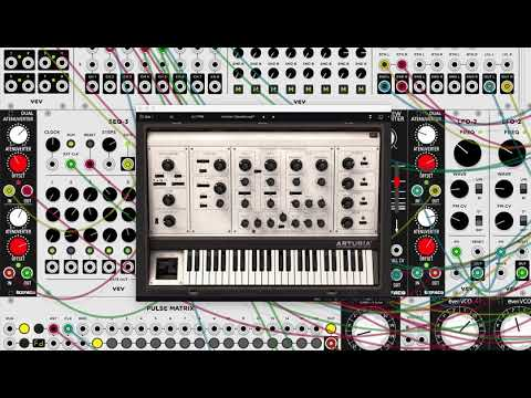 VCV Host - Using Arturia SEM V VST with VCV Rack Mp3