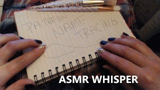 INSTANT TINGLES ~ Tracing & Repeating Whisper ASMR (Feb Patreon)
