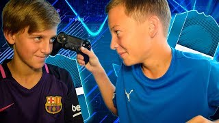 ПЕРВЫЙ ВАГЕР FIFA 18 ПРОТИВ ДРУГА