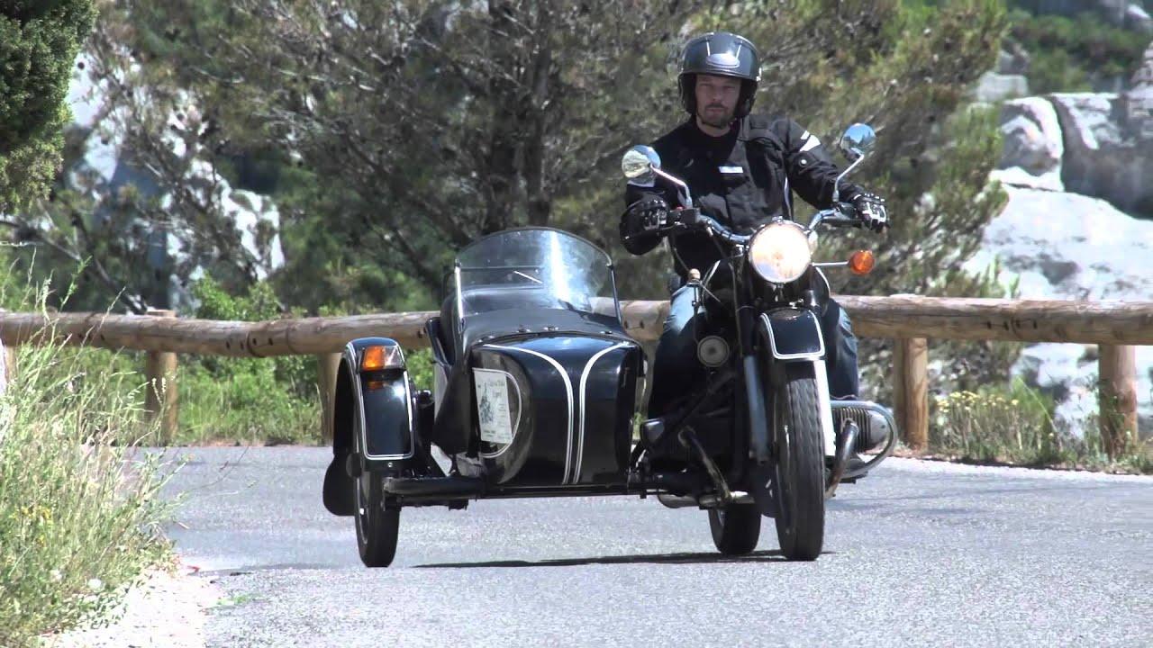 club 14 moto essai side car ural youtube. Black Bedroom Furniture Sets. Home Design Ideas