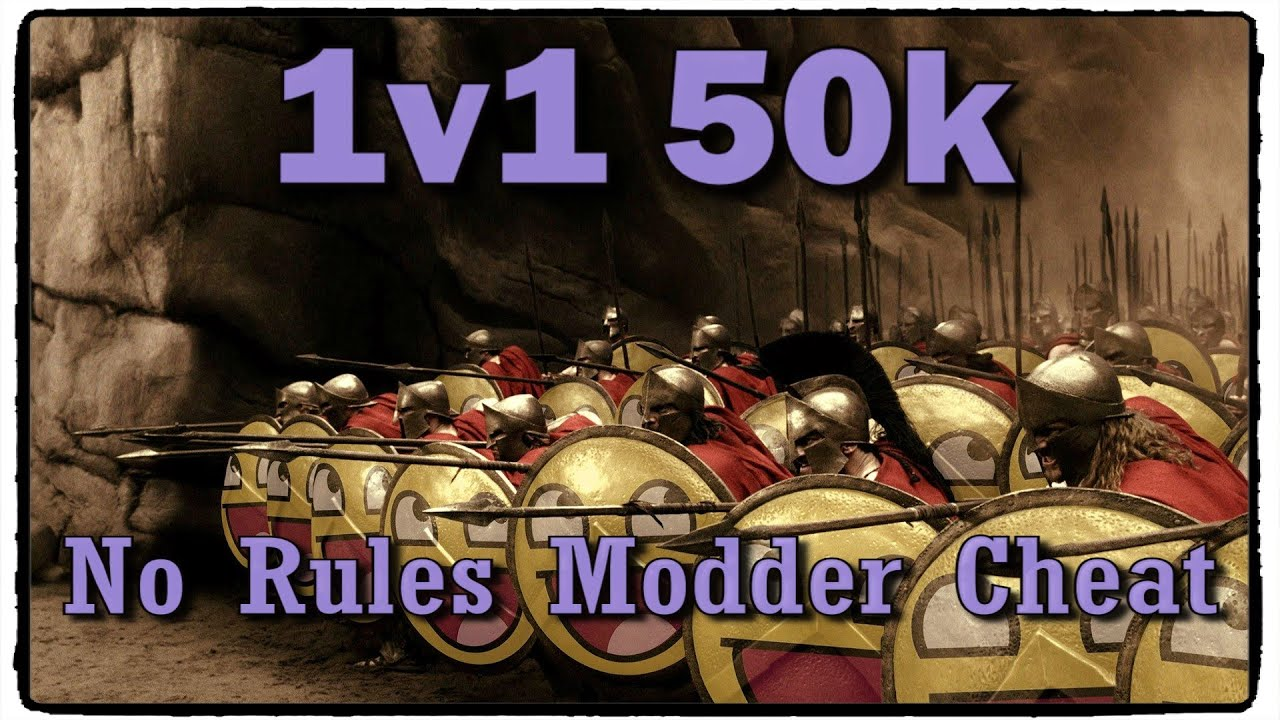 Modded Army Cheat Rome Total War - YouTube