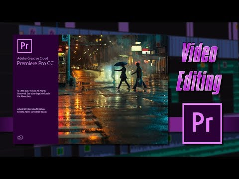 Video Editing tutorial - to make a cool video by adobe premiere pro. thumbnail