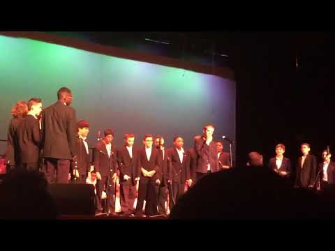 """Rosa International Middle School Close Harmony: """"Stand By Me"""""""