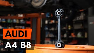 Как да сменим переден биалетка на Audi A4 B8 Седан [ИНСТРУКЦИЯ AUTODOC]