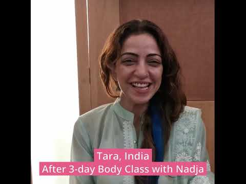Testimonial after a 3-day Body Class with Nadja in India - Tara