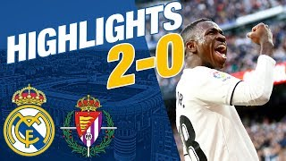 REAL MADRID 2-0 VALLADOLID | ALL GOALS & HIGHLIGHTS | LaLiga