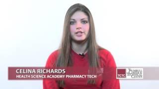 Career Tech Edu Month 2016 - Celina Richards - Health Science Academy Pharm Tech