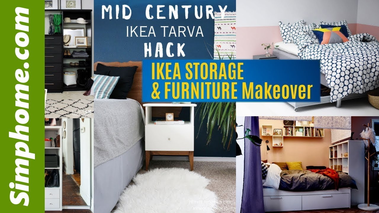 Ikea Expedit Cut In Half 31 Ikea Storage And Furniture Makeover Ideas Simphome